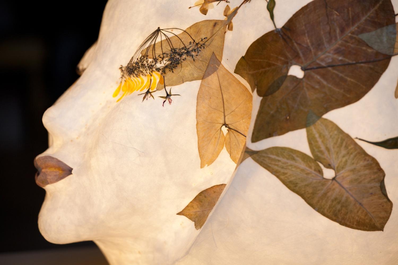 Lichtobjekt Luna Lichtckulptur