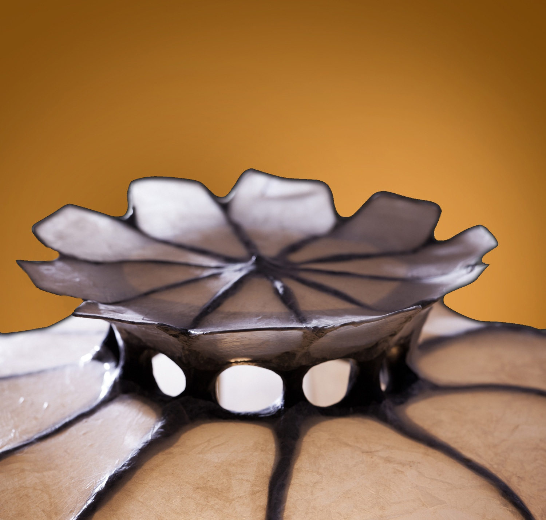 Mohn Lichtckulptur