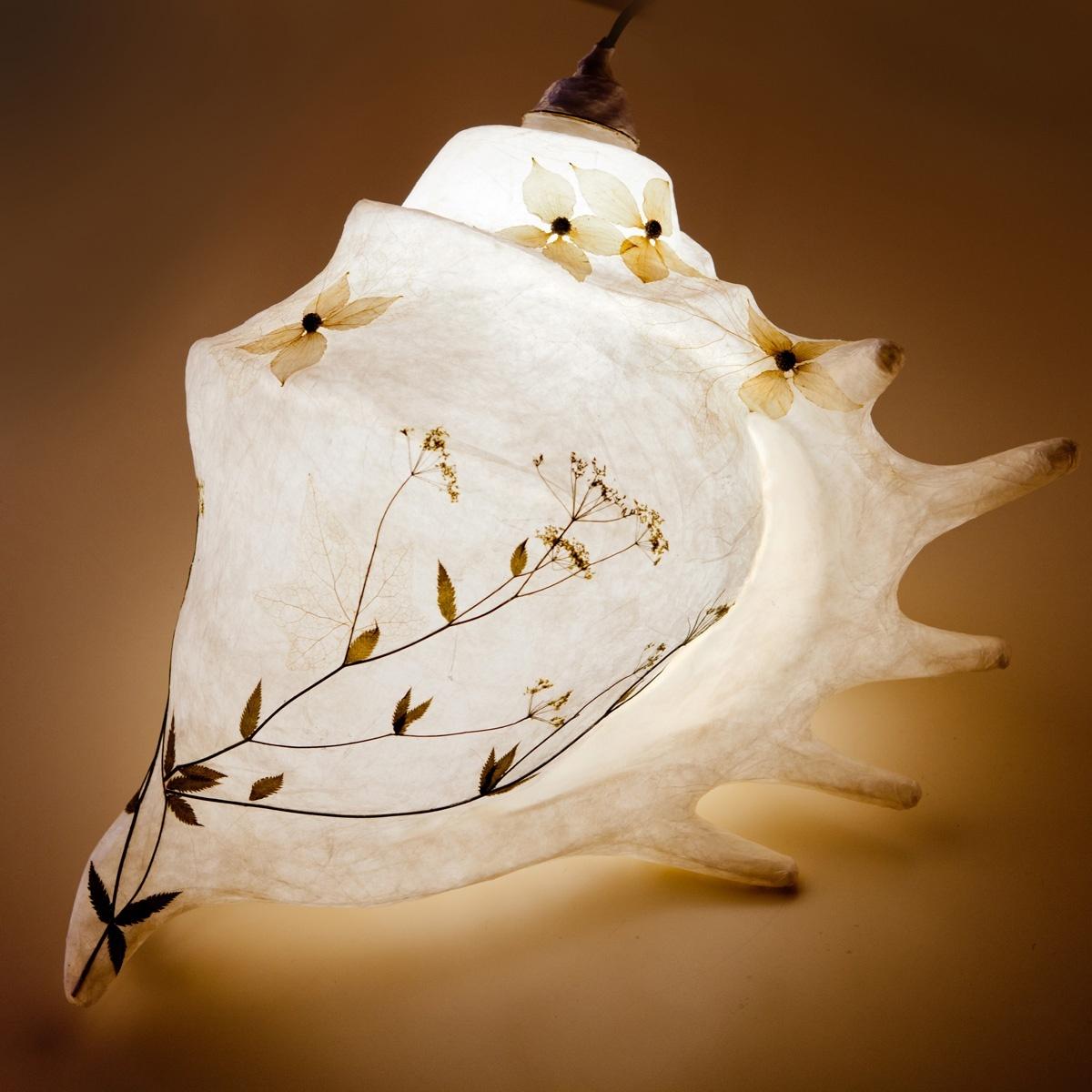 Lichtobjekt Lichtckulptur Muschel