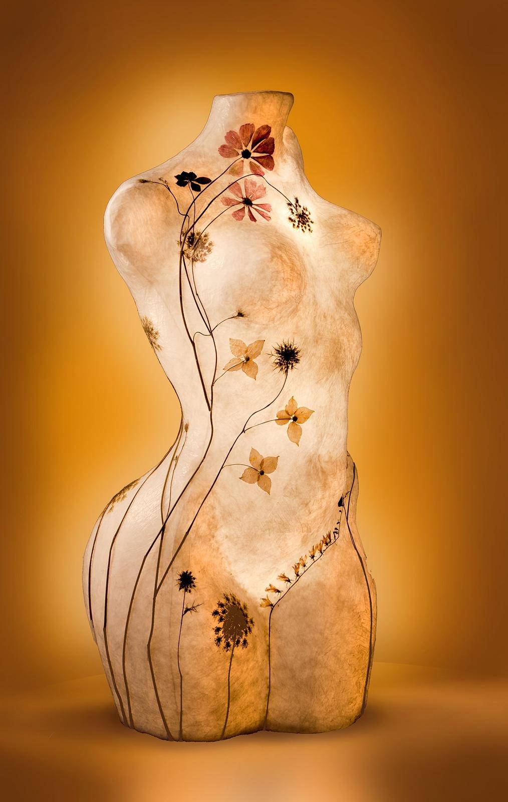 Lichtsculpture Venera