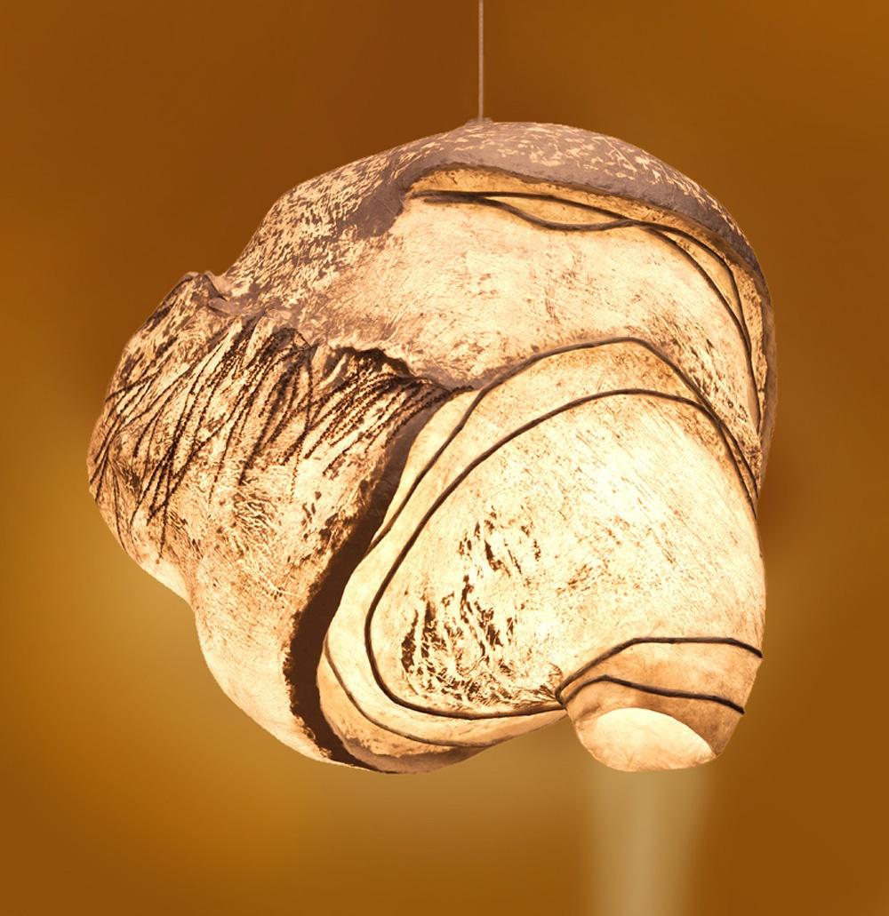 Wespennest Lichtsculpture