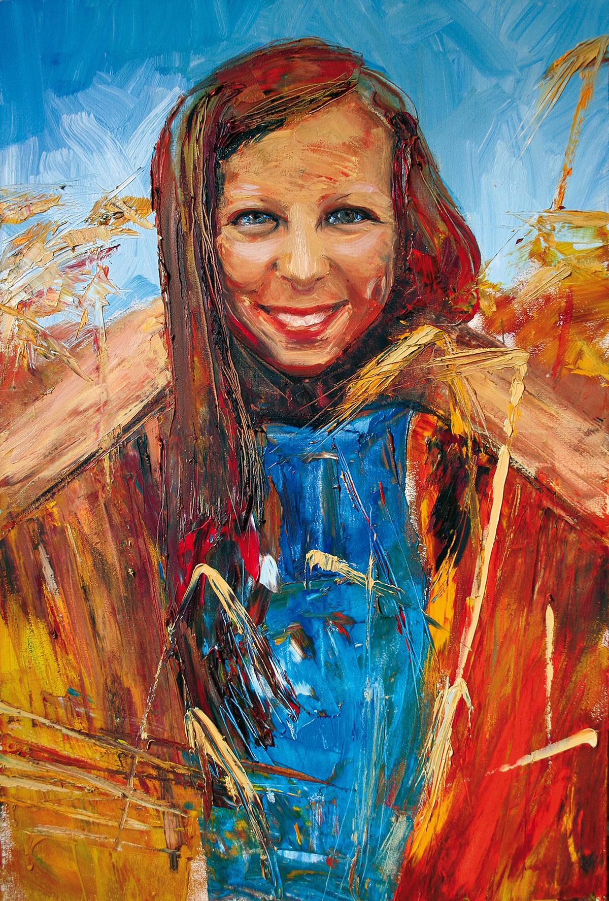 Malerei Öl