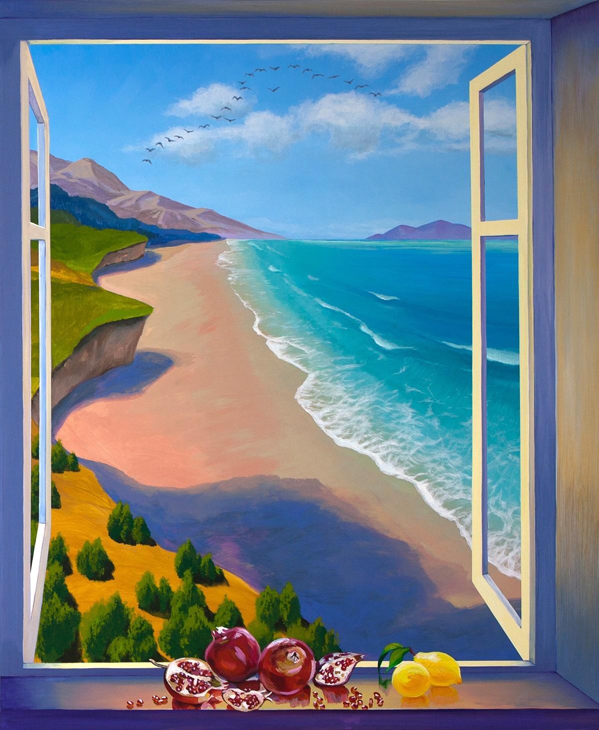 Fenster Malerei
