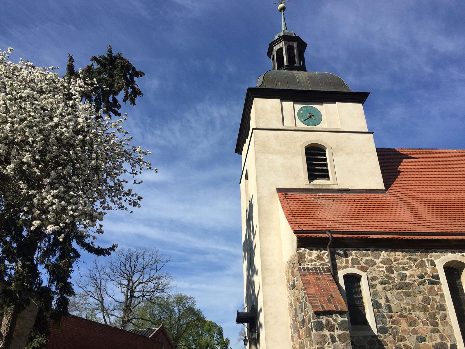 Restauration in Kirche